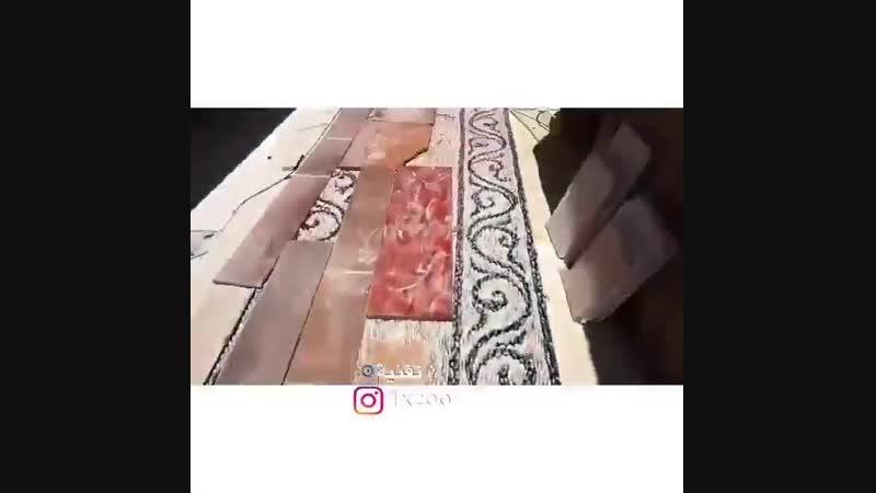 Мозаика из гальки