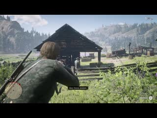 """The last """"Hey there Mister"""" he'll ever hear. Red Dead Redemption 2"""