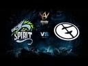 Team Spirit vs Evil Geniuses Adrenaline Cyber League bo3 game 2 Eiritel Lost