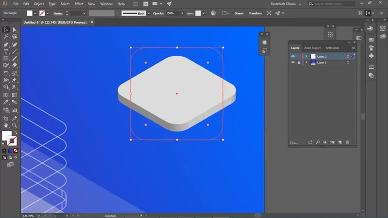 How to create Flat Isometric Concept design (Adobe illustrator advanced tutorial) from art tutor