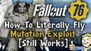 Fallout 76 - *Flying* Mutation Exploit Tutorial - (No Jetpack Needed) - OP Exploit