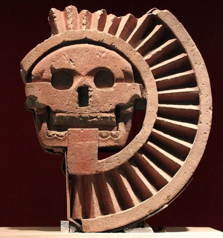 диск Смерти  Теотиуакан