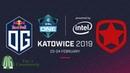 OG vs Gambit - Game 1 - ESL One Katowice 2019 - Group Stage.