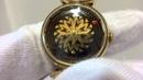 Hypnotic mystery dial watch