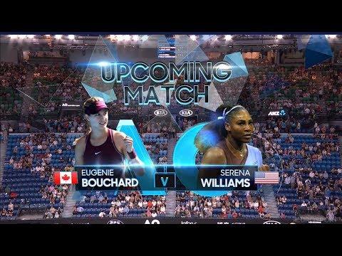 Serena Williams vs Eugenie Bouchard FULL MATCH AUSTRALIA OPEN 2019 HD P1