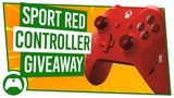 XBO - Xbox One Wireless Controller Sport Red Special Edition