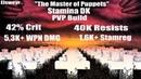 ESO OP STAM DK PVP BURST BUILD Elsweyr The Master of Puppets