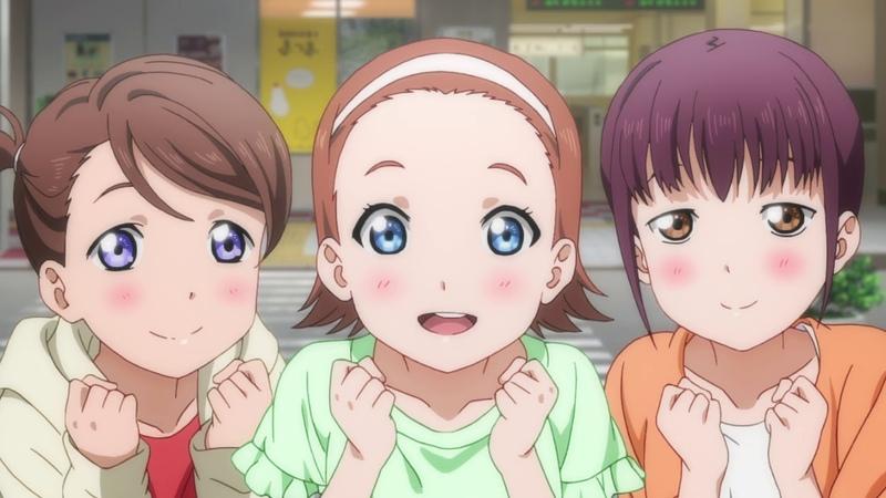 Love Live! Sunshine 7 серия Живая любовь