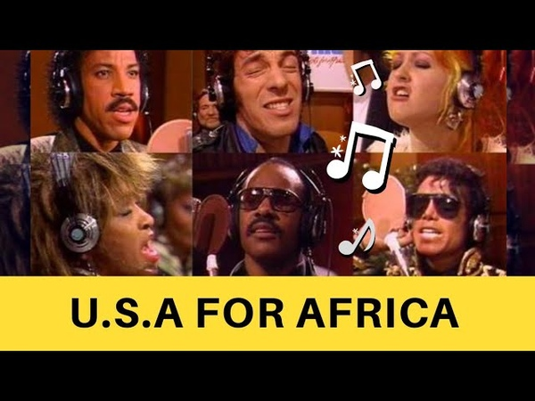 USA FOR AFRICA - We Are The World - Reduto Musical