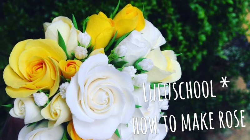 Luluschooul*手作黏土-How to make rose 006玫瑰花