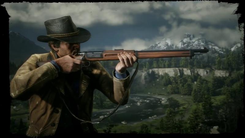 Red Dead Redemption 2 Оружие В Действии Геймплей
