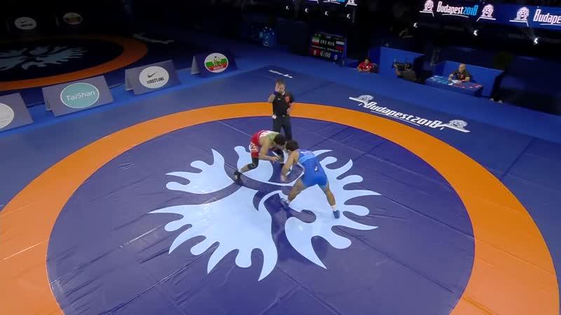 Иранский Борец Хасан Яздани победил дагестанца куруглиева 11-5