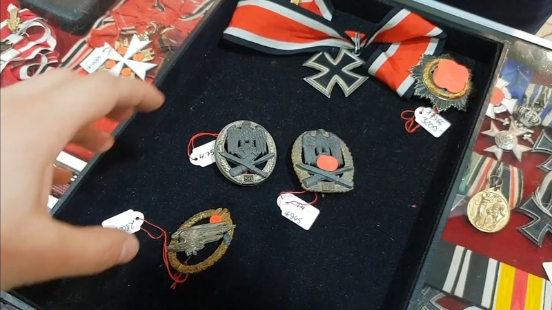 REAL Knights Cross extremely RARE German badges How to check originality Sascha Ulderup interview