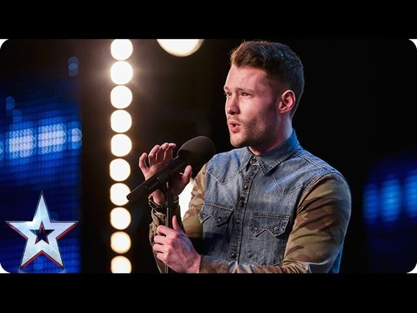 Golden boy Calum Scott hits the right note   Audition Week 1   Britains Got Talent 2015