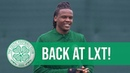Back at Lennoxtown! Celtic train ahead of Glasgow Derby 🔙
