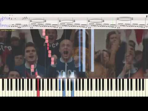 Boot Scoots - OST Движение вверх (Ноты и Видеоурок для фортепиано) (piano cover)