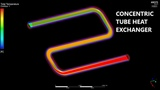 CFD ANSYS Tutorial - Simulation of a concentric tube heat exchanger using Fluent