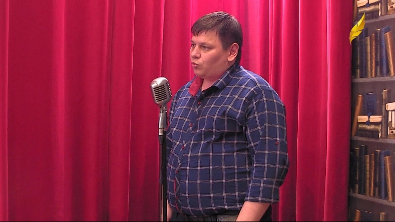 Турнир поэтов 2018. Дмитрий Шорскин и Антон Стрижак.