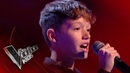 Lewis performs 'Cry Me Out': Blinds 3 | The Voice Kids UK 2017
