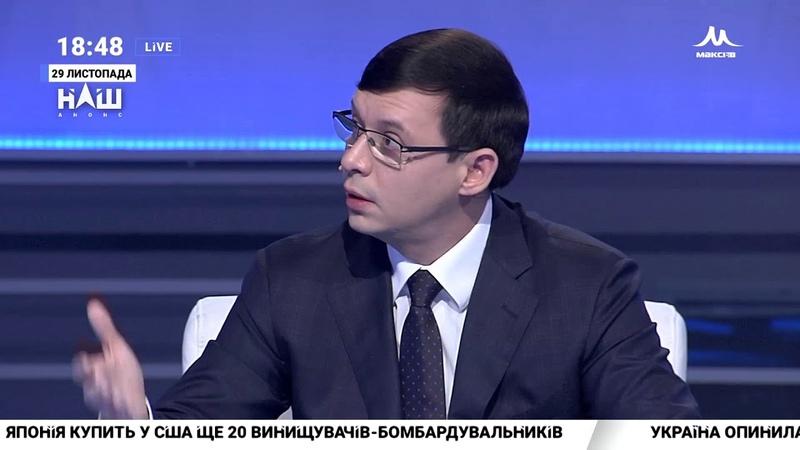 Мураєв Порошенко сам став заручником ситуації з воєнним станом Події дня НАШ 29 11 18