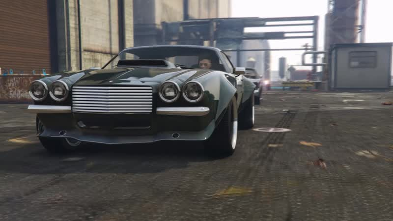GTA 5-The muscle car meet