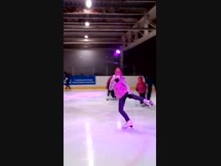 Первый раз на коньках, после 8 - ми месячного перерыва