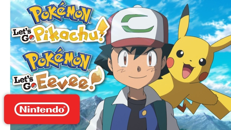 Pokémon Let's Go Pikachu Let's Go Eevee Welcome to the Kanto Region Nintendo Switch