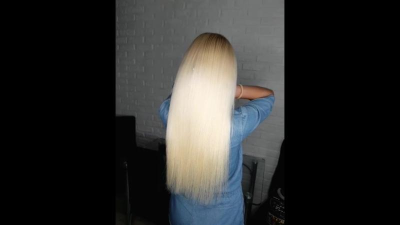 Наращивание Волос (капсульное)-135 шт 55см