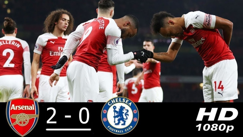 Arsenal vs Chelsea 2-0 All Goals Highlights 19/01/2019