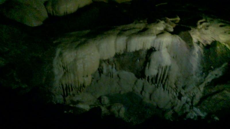 в Новоафонской пещере 2 й по величине в Европе находится под склоном Иверской горы Абхазия сентябрь 2018
