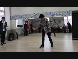 Открытие в танцевальной студии
