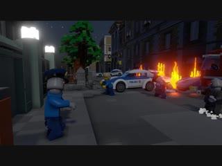 New LEGO Resident Evil 2 Leon Gameplay