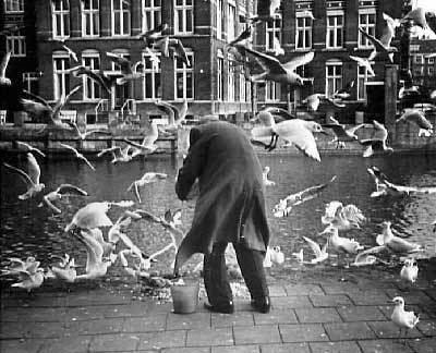 Послевоенный нидерландский фотограф Эд ван дер Элскен крепко-накрепко связал свою жизнь с фотокамерой. Через неё он смотрел на мир, её принёс в спальню и снимал свою жизнь с первой женой, а