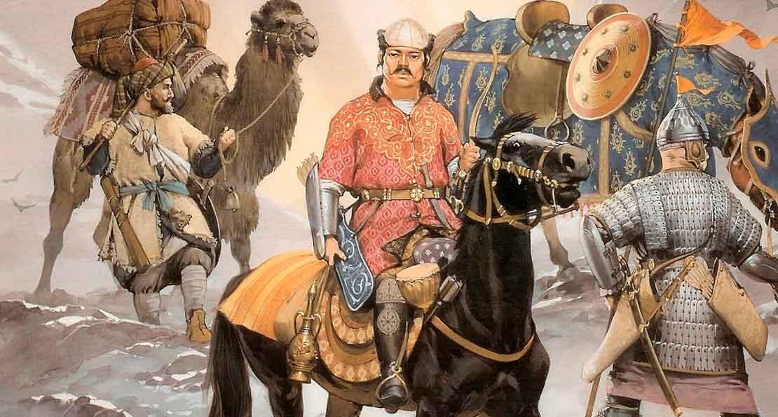 Воины 14 века