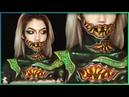 Yogg-Saron World of Warcraft Body Paint Cosplay Djarii MUA