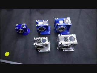 NMRV 025 030 040 Коробка передач Коэффициент редуктора 1/5 / 7.5 / 10/15/20/25/30/40/50/60/80/100