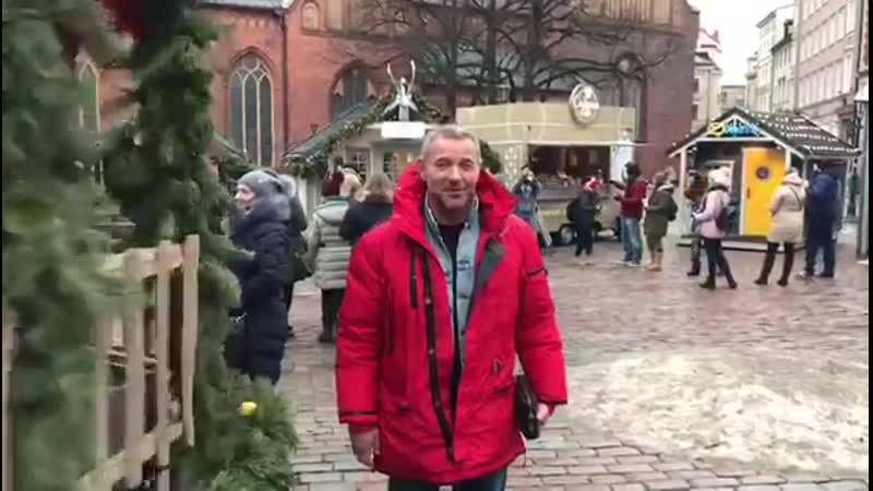 Актер Максим Дрозд. Поздравление с Новым годом!