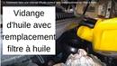 🚗 Comment faire une vidange d'huile moteur avec remplacement du filtre à huile