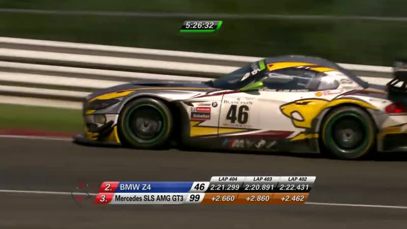 24h Spa 2015 - Road To Victory - Marc VDS - Nick Catsburg vs. Stephane Ortelli