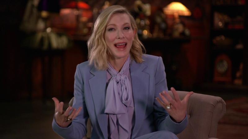 House With A Clock Domestic EPK Soundbites Cate Blanchett