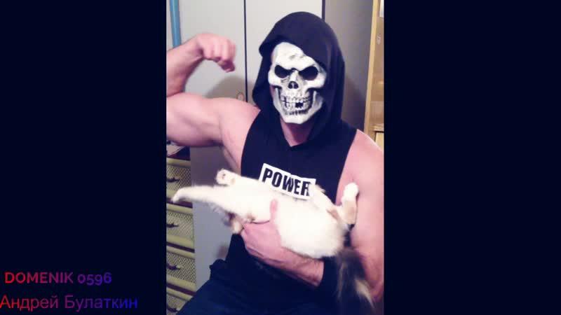 Позирую свой биц суперкусем 29.11.2018 (Domenik Beckinsale Bodybuilding Fitness Aesthetic Андрей Булаткин)