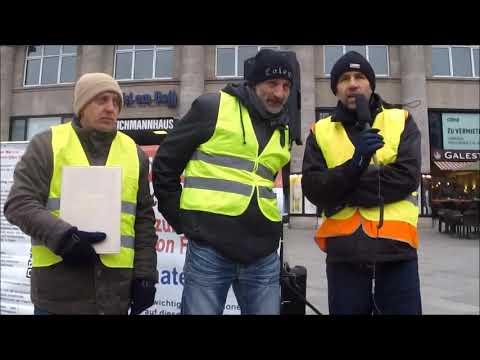 Gelbe Westen in Köln staatenlos.info - Comedian e.V. am 15.12.2018