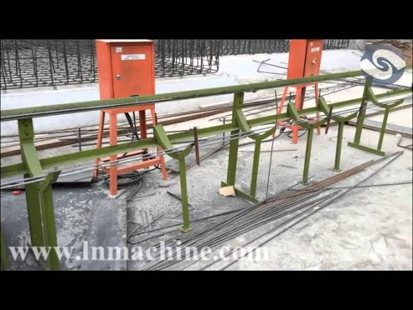 6-12mm Hydraulic steel bar straightening and cutting machine