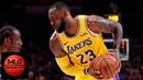 Los Angeles Lakers vs Portland Trail Blazers Full Game Highlights | 11.03.2018, NBA Season