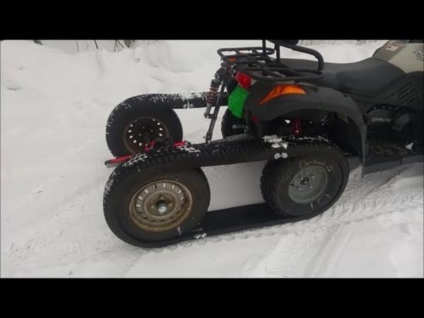 Bygga ATV halvband
