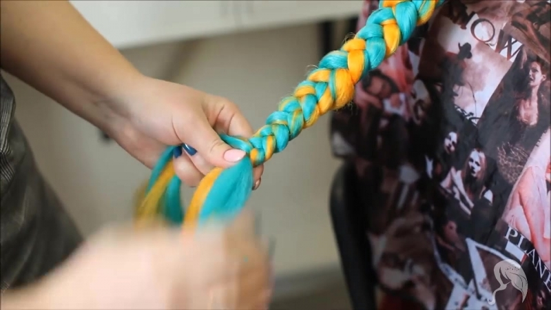 Плетем косички, при помощи канекалона | Diva Bijou