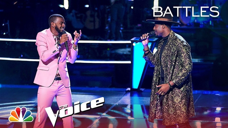 """Tyshawn Colquitt and Zaxai Duet to Khalid and Normani's """"Love Lies"""" - The Voice 2018 Battles"""