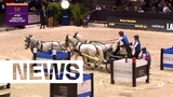 The youngest Driving Champion ever Bram Chardon wins in Bordeaux FEI Driving World Cup Final