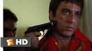 Scarface 1983 - Chainsaw Threat Scene 2/8 Movieclips