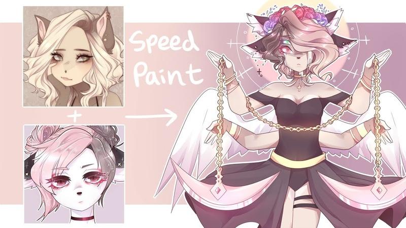 Crydiaa Sleepygrim fused 7 times Speedpaint